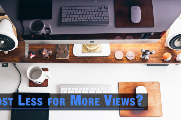 How To Get More Views on YouTube by Posting Less